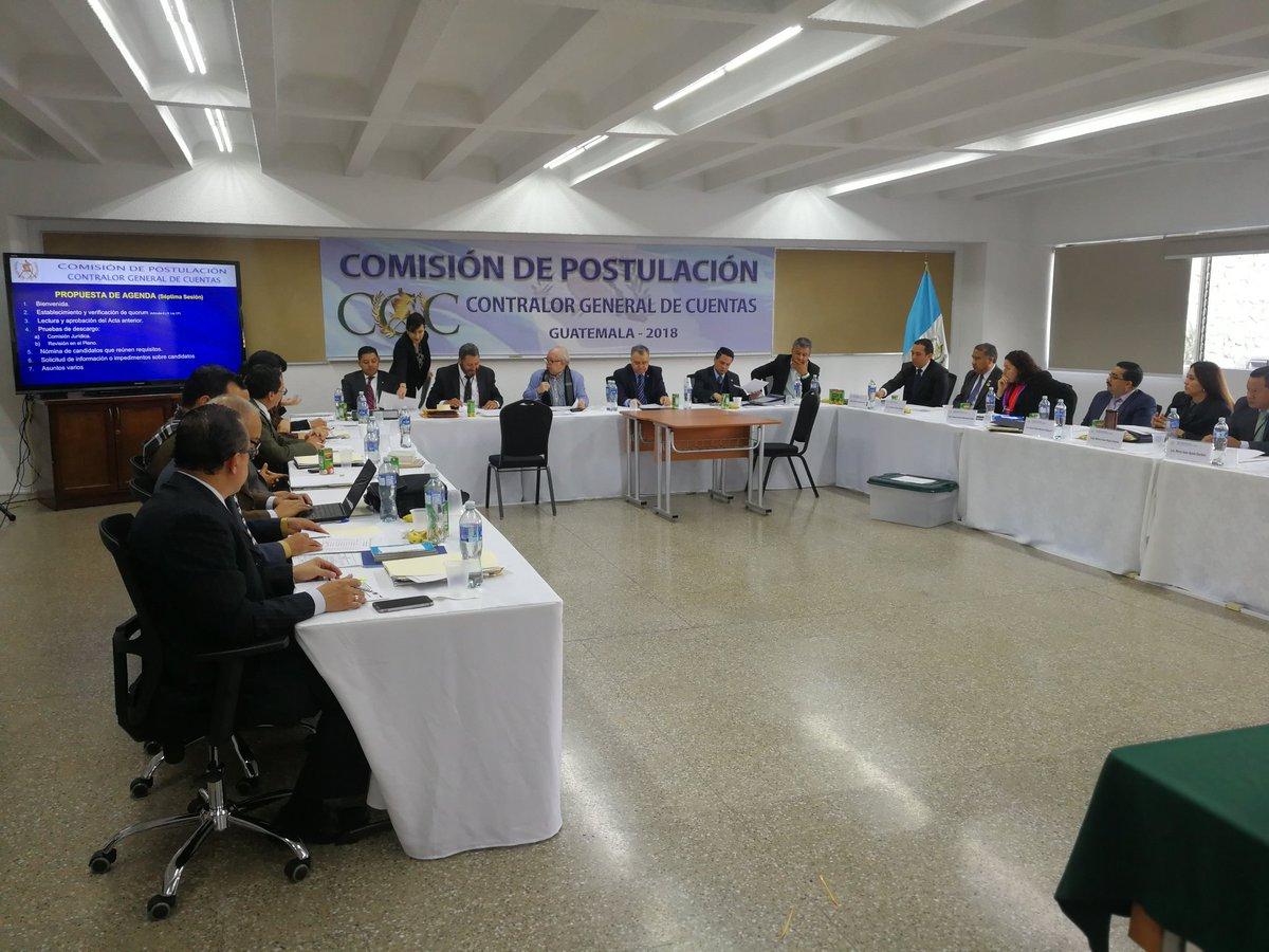Postuladora recibe señalamientos contra candidatos a contralor general