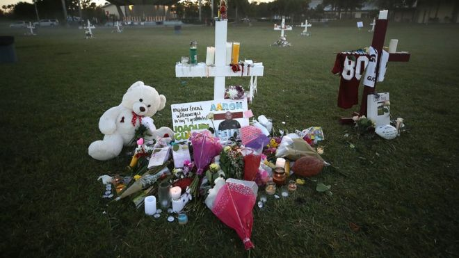 En el tiroteo ocurrido el 14 de febrero murieron 17 personas, la mayoría menores de edad. GETTY