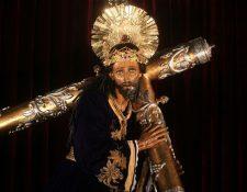 La imagen de Jesús de los Milagros, del Santuario Arquidiocesano del Señor San José, fue presentada este jueves, después de varios meses de restauración. (Foto Prensa Libre: Óscar Rivas)