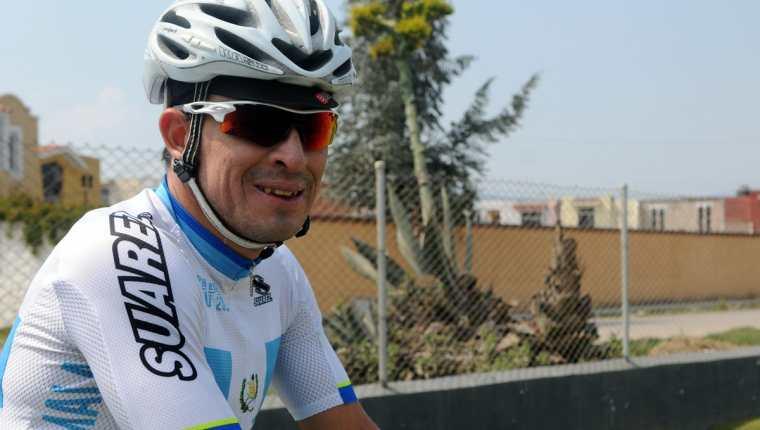 Manuel Rodas tuvo un gran 2017 con la victoria en la Vuelta Ciclística a Guatemala. (Foto Prensa Libre: Hemeroteca PL)