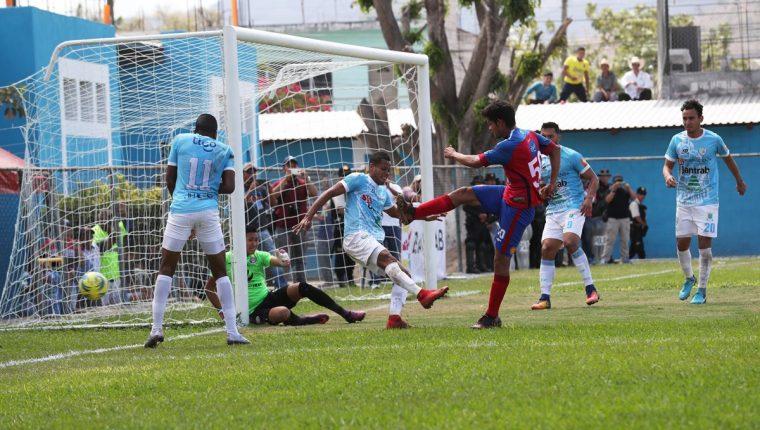 Sanarate vive un buen momento en el actual torneo Clausura 2018. (Foto Prensa Libre: Francisco Sánchez)