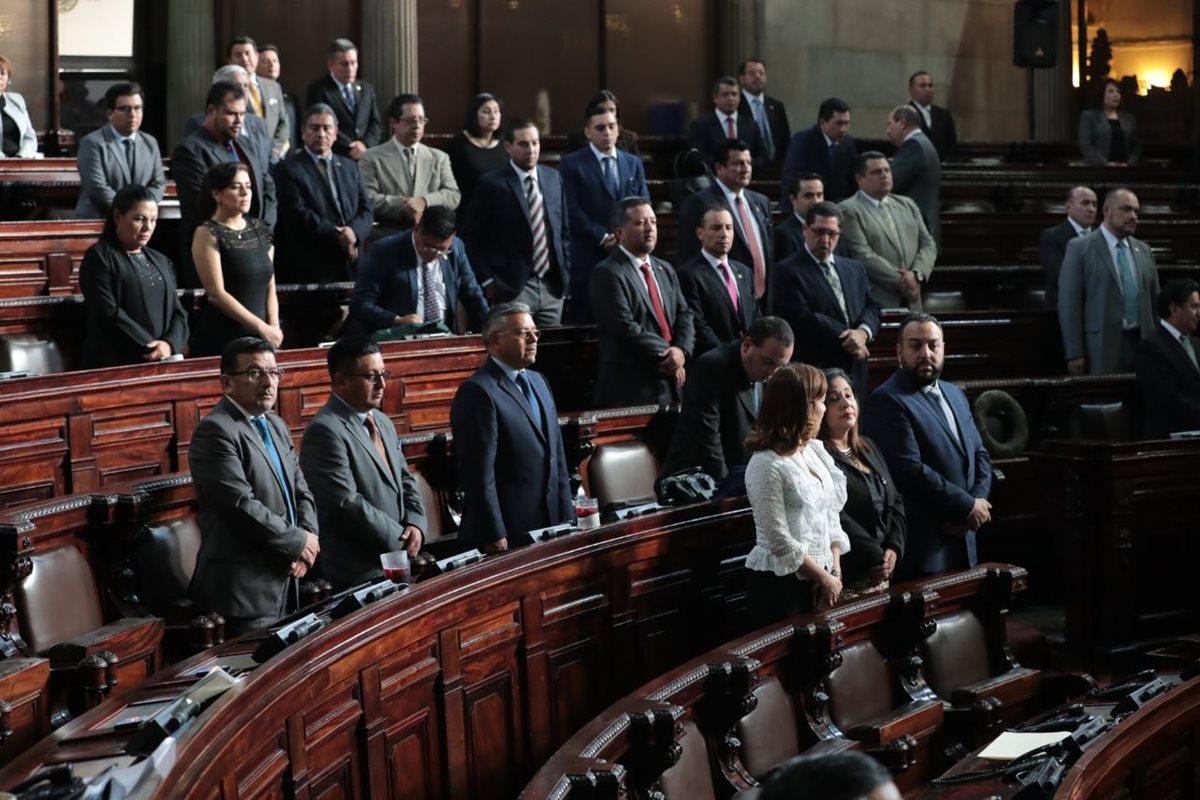 Congresistas convocaron a la comisión postuladora, con lo cual inicia el proceso de elección de fiscal General. (Foto Prensa Libre: Alvaro Interiano)