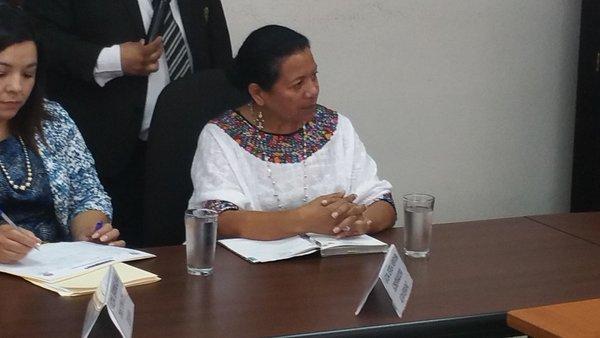 Solicitan medidas cautelares para la gobernadora de Alta Verapaz