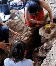 Los rastros fueron hallados en morteros que habían sido cavados sobre el piso de una cueva en Israel. (GETTY IMAGES)