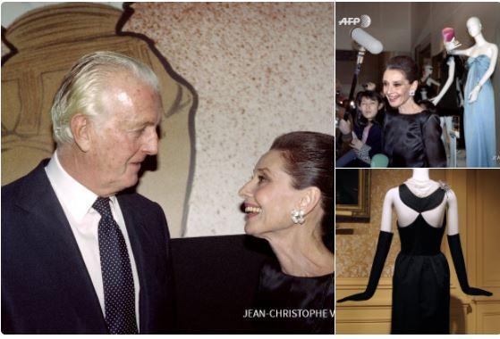 En 2016 el diseñador Hubert de Givenchy rindió homenaje a su musa, la actriz Audrey Hepburn. La exposición se llamó 'Hubert de Givenchy: para Audrey, con amor', y se exhibió en el Museo Municipal de La Haya, Holanda. (Foto Prensa Libre: AFP)