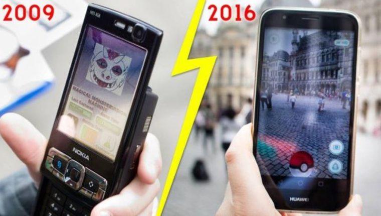 Los monstruos y los teléfonos han cambiado, pero el sentido del juego es prácticamente el mismo. (GETTY IMAGES)