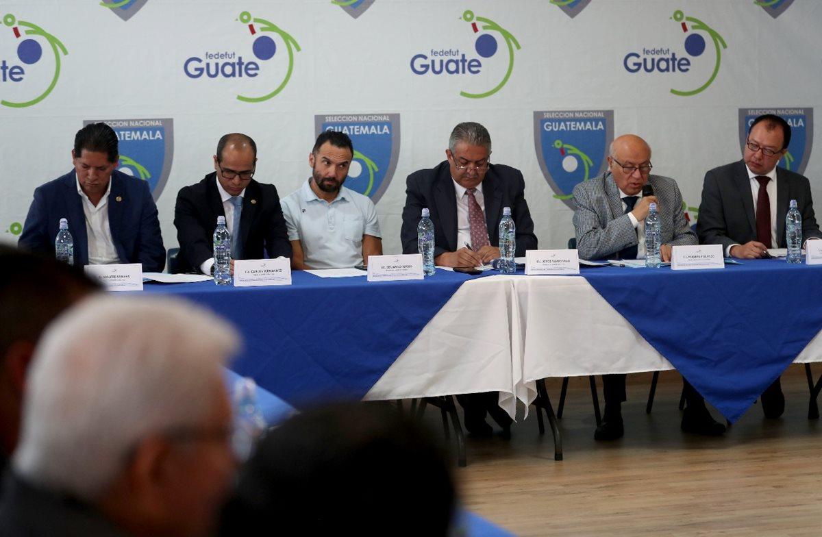 El Comité Ejecutivo de la Fedefut fue acusado de cometer seis delitos. (Foto Prensa Libre: Hemeroteca PL)