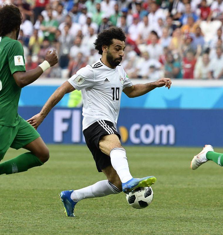 Mohamed Salah disputó dos partidos en Rusia 2018 (Foto Prensa Libre: AFP)