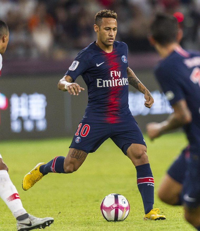 Neymar y el PSG ganaron el Trofeo de Campeones en Shenzhen, China, este sábado.