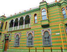 La Casa Rodríguez se encuentra en la 9a. avenida y 13 calle de la zona 1 de Guatemala. (Foto Prensa Libre: Hemeroteca PL).