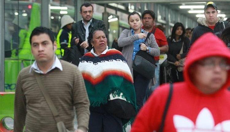 El frío podría intensificarse el próximo fin de semana. (Foto Prensa Libre: Hemeroteca PL)