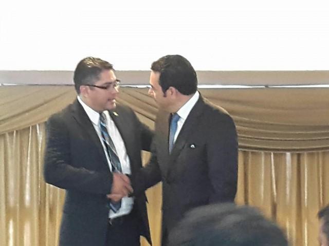 Gílmar Othmar Sánchez, diputado al Parlacén, fue financista de campaña de Jimmy Morales. (Foto Prensa Libre: Hemeroteca PL)