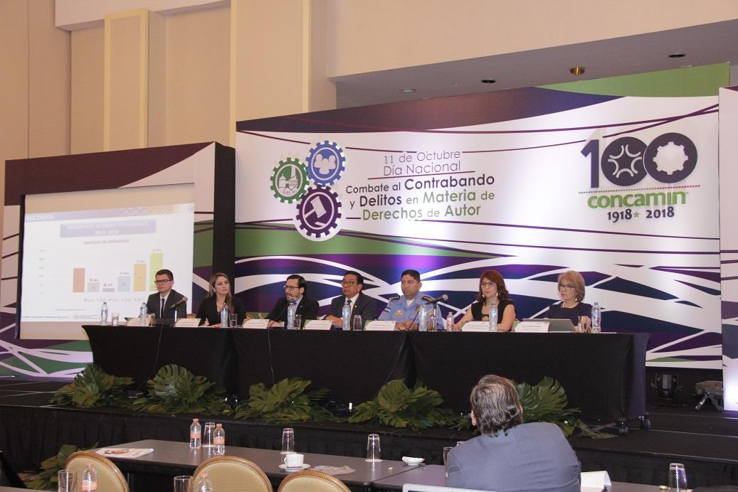 Día Nacional de Combate al Contrabando y Delitos en Materia de Derechos de Autor