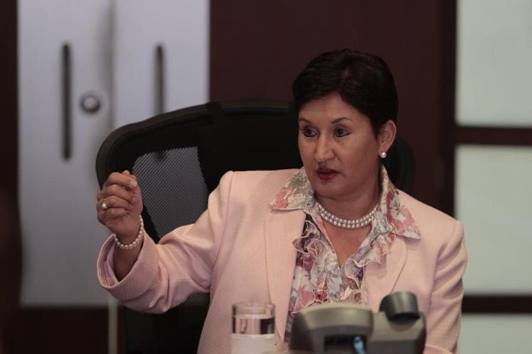 Thelma Aldana, exfiscal General y exjefa del Ministerio Público. (Foto: Hemeroteca PL)