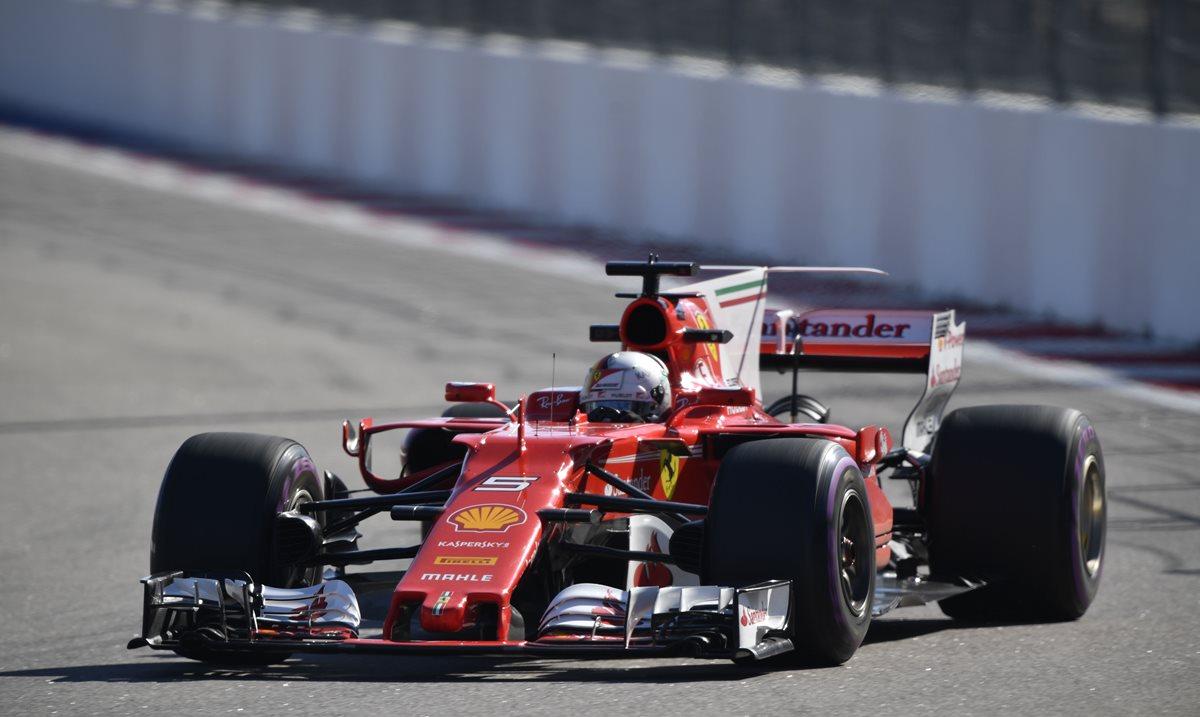 Sebastian Vettel, el más rápido en la segunda sesión de entrenamientos libres