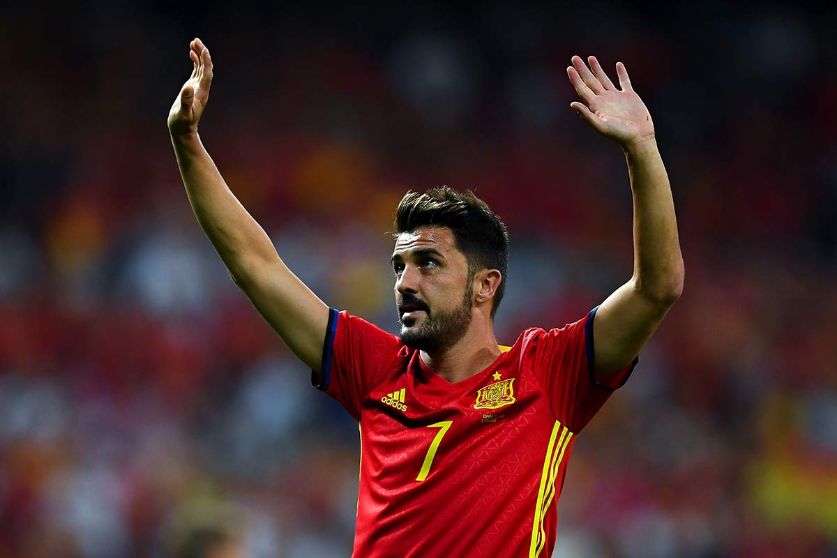 David Villa ha disputado tres Mundiales: Alemania 2006, Sudáfrica 2010 y Brasil 2014. (Foto Prensa Libre: EFE).
