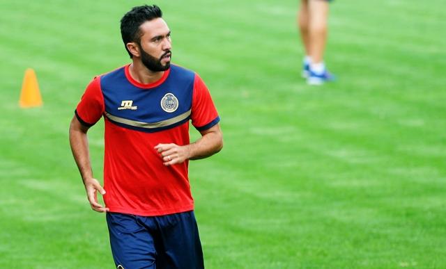 Carlos Kamiani es duda para el partido de vuelta contra Suchi por lesión. (Foto Prensa Libre: Edwin Fajardo).