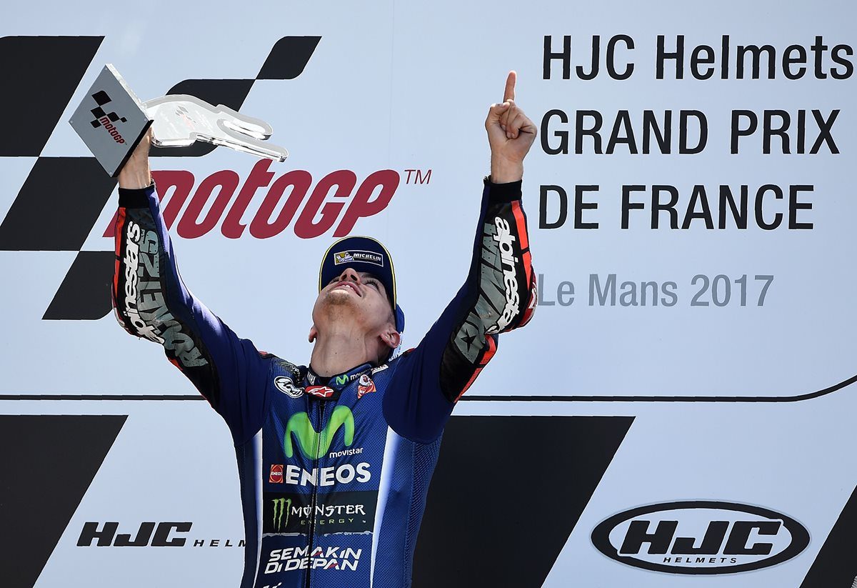 Viñales logra una victoria importante en Le Mans