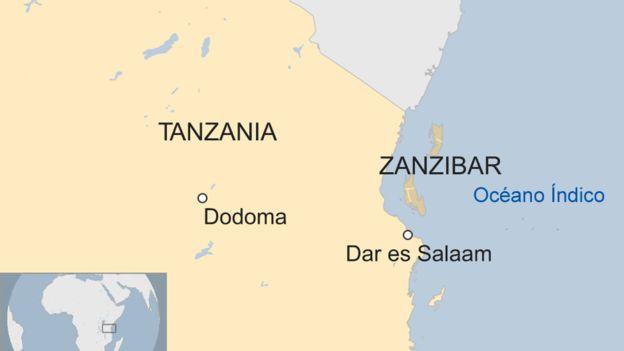 Zanzíbar es hoy un territorio semiautónomo de Tanzania, en la costa este de África.