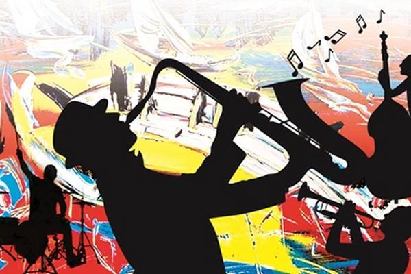 Veintidós conciertos de jazz  se presentarán este mes. (Arte Prensa Libre: Astrid Méndez)