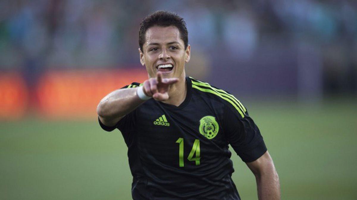Javier el 'Chicharito' Hernández es la figura de la selección de México. (Foto Prensa Libre: Hemeroteca PL)