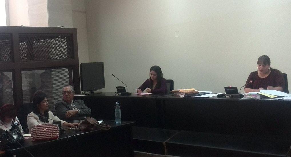 La jueza Silvia De León ordena juicio contra los implicados en el caso IGSS-Pisa. (Foto Prensa Libre: Jerson Ramos)