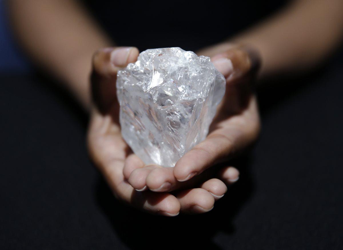 ¿Sabía que cada vez es más difícil extraer diamantes?