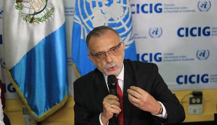 Iván Velásquez, jefe de la Cicig. (Foto: Hemeroteca PL)