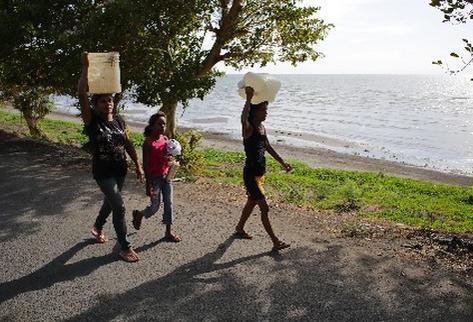 Violencia en Nicaragua afecta a gran porcentaje de mujeres, según informe reciente. (Foto Prensa Libre:AFP)
