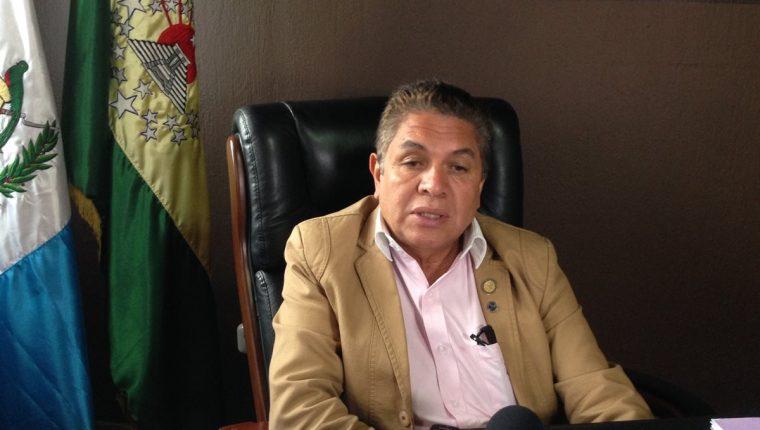 El gobernador de Huehuetenango, Mauselio Hiram Martínez Galindo, rechazó la acusación de la víctima. (Foto Prensa Libre: Mike Castillo)