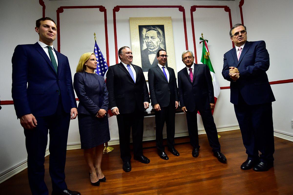 López Obrador recibe a Pompeo en primer acercamiento con Gobierno de EE. UU.
