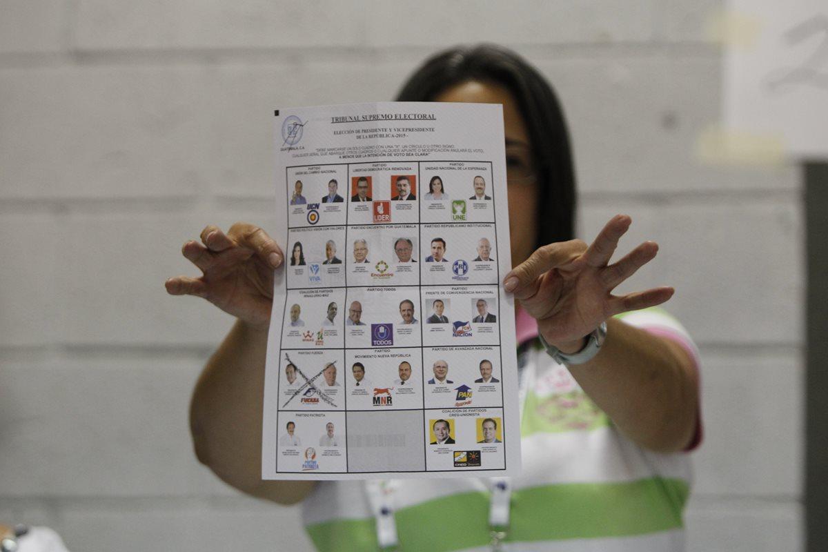 La inscripción de candidatos finaliza este domingo. (Foto Prensa Libre: Hemeroteca PL)