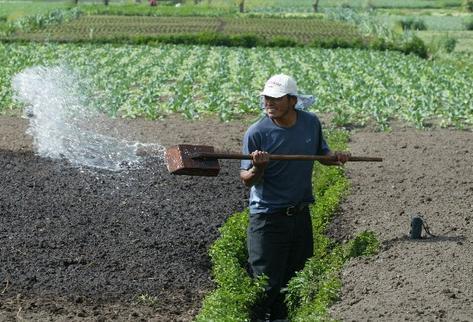 El agua, aunque se desconoce el peso monetario que tiene, mueve la economía del país. (Foto Prensa Libre: Archivo.)