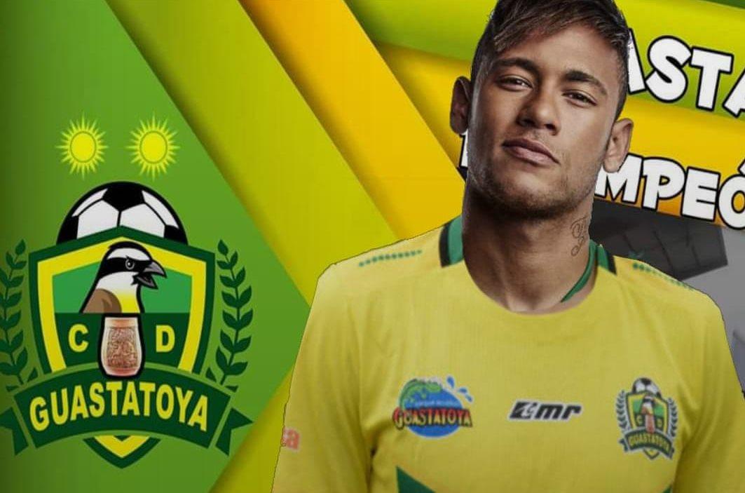 Neymar llegaría a reforzar al campeón Guatatatoya.