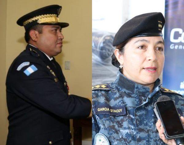 Nery Neftalí Benito Hernández y Yodzaida Cloudeth García Estacuy. (Fotos Prensa Libre: Gobernación).