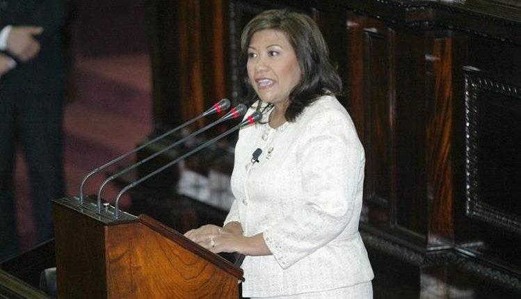 Congresista Norma Torres pide a guatemaltecos exigir a las autoridades la problemática de migración. (Foto Prensa Libre: Hemeroteca PL)