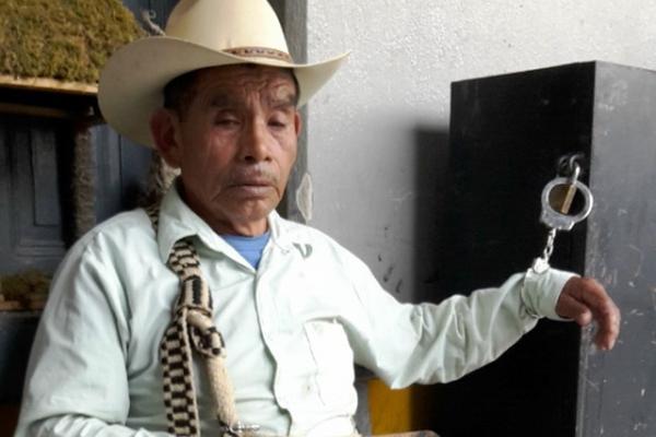 Martín Castro, fue capturado cuando recogía el rescate de su propio secuestro. (Foto Prensa Libre: Óscar Figueroa)