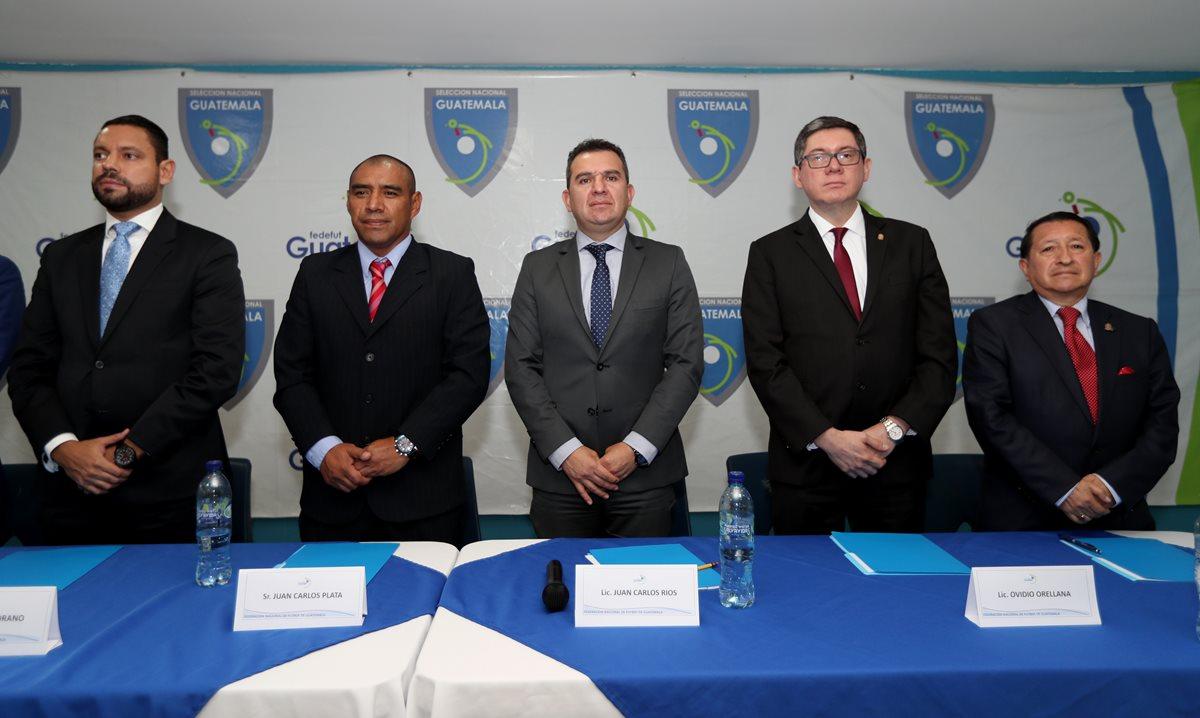 El nuevo Comité de Regularización tomó el mando de la Federación de Futbol. (Foto Prensa Libre: Hemeroteca)
