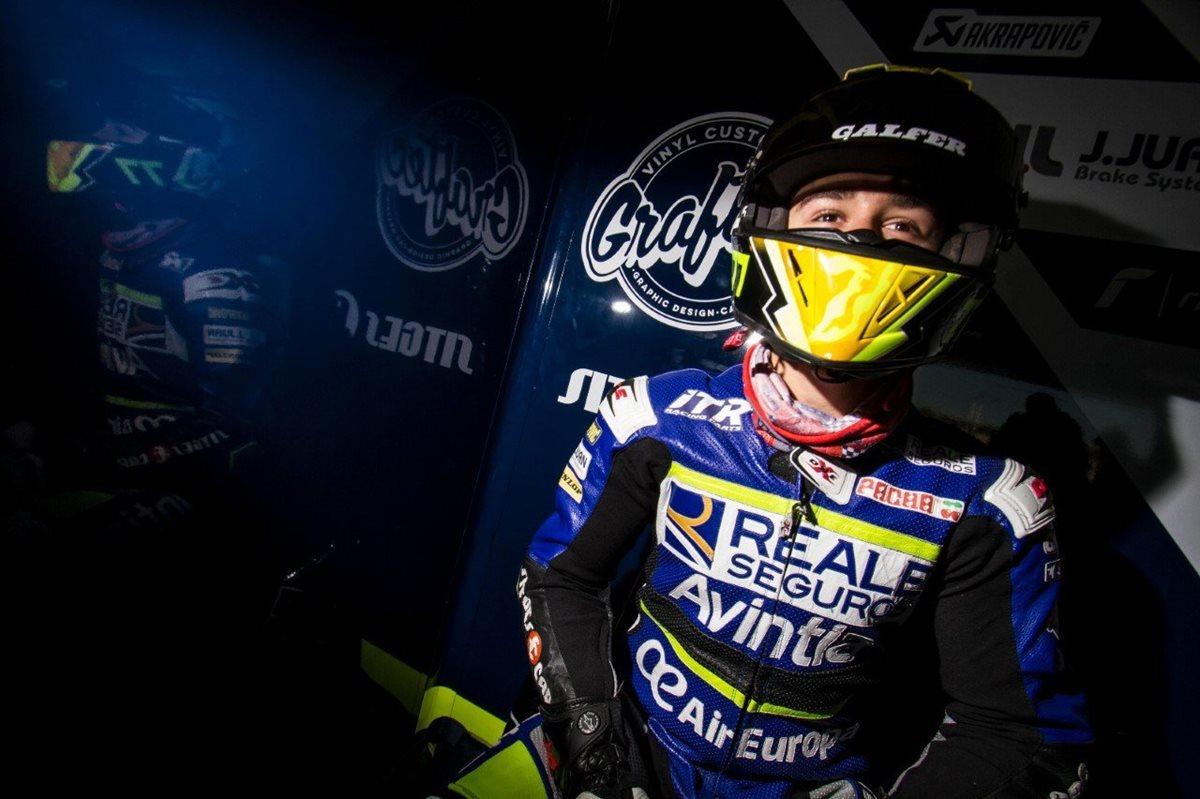 Andreas Pérez, piloto español de 14 años, muere en accidente en un circuito