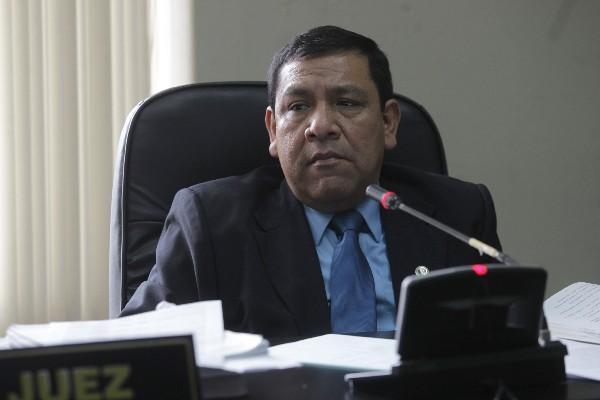 José Luis Patán Piché, juez décimo Penal.