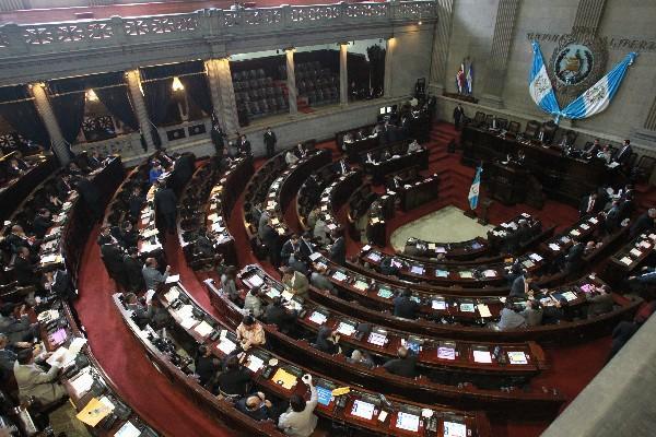 Partidos han perdido y ganado diputados durante dos años, se esperan más modificaciones.