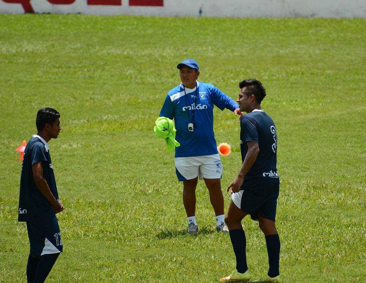 Edwin Vásquez toma el mando de Suchi
