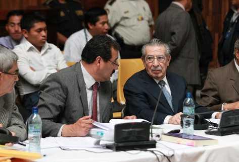 José Efraín Ríos Montt, ex jefe de Estado de facto.