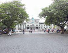 Fachada  del Palacio Nacional y la Plaza de la Constitucion. Foto: Hemeroteca PL.