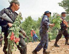 Unos 600 efectivos de las fuerzas de seguridad cuidarán de 256 kilómetros de frontera. (Foto Prensa Libre: Hemeroteca PL)