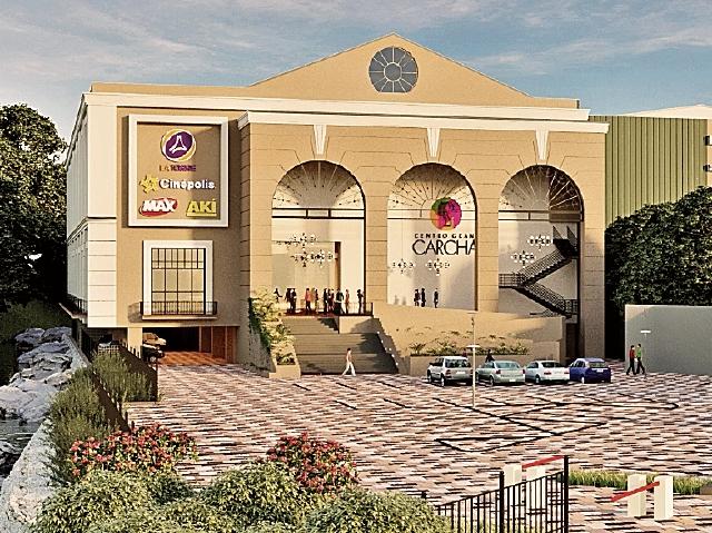El centro tiene una extensión de 25 mil metros cuadrados. (Foto Prensa Libre: Cortesía)