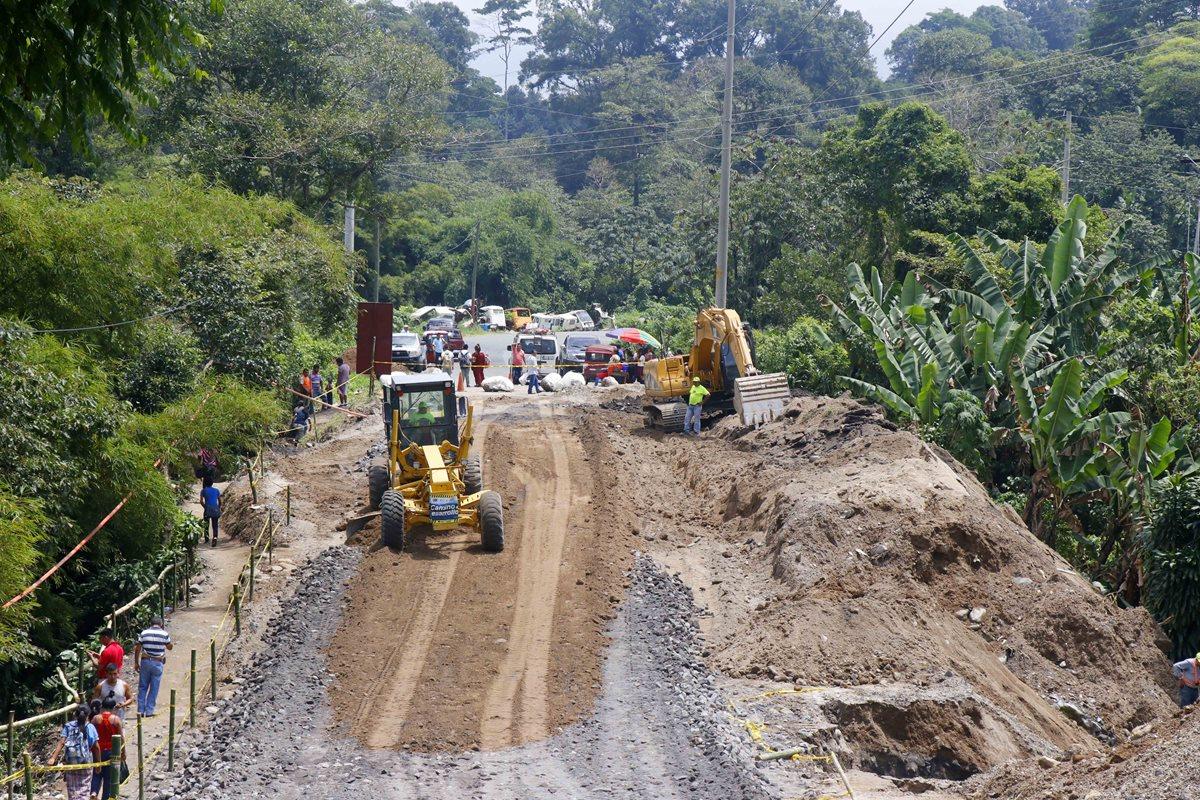 Cito-Zarco aún permanece cerrada por derrumbe en km 188