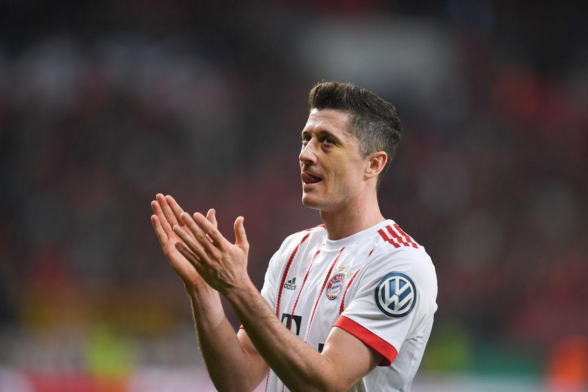 A pesar del favoritismo del Real Madrid, Lewandowski considerá que el Bayern Múnich les dará batalla. (Foto Prensa Libre: AFP)