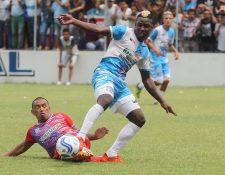 Santa Lucía Cotz. e Iztapa definirán el título de la Primera División el próximo domingo. (Foto Prensa Libre: Norvin Mendoza).
