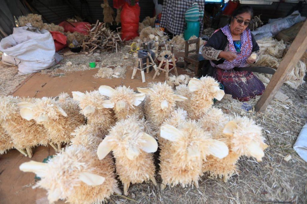 Algunos ofrecen ovejas de varios tamaños.